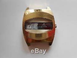 VINTAGE Ultra Rare Stowa Digital watch Germany Jump Hour cal. PUW 560 D check it