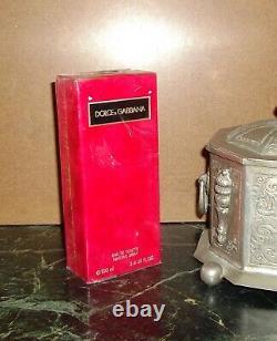 VINTAGE VERSION Dolce Gabbana D&G Femme Red EDT 100 ml 3.4 oz BNIB ULTRA RARE