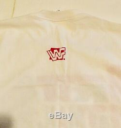 VINTAGE WWF Bret HitMan Hart SizeXXL T-Shirt Ultra Rare WCW WWE 1995