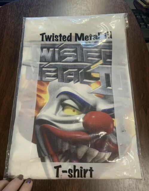 Vtg 1998 Twisted Metal Iii Playstation Game Promo T-shirt. Ultra Rare Xl Tee