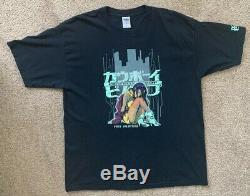 VTG Cowboy Bebop Faye Valentine XL anime Sunrise Shirt Ultra Rare Free S&H