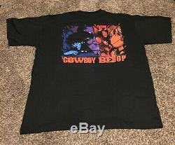 VTG Cowboy Bebop ODM XL NOS anime Sunrise Shirt Ultra Rare Free S&H