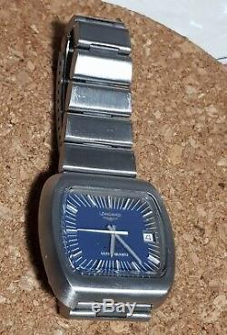 Very Rare LONGINES ULTRA-QUARTZ cal. L6512 CYBERNETIC WATCH uomo vintage