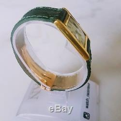 Very Rare Vintage Cartier Tank Normale ultra thin with Jaeger Lecoultre mvmt