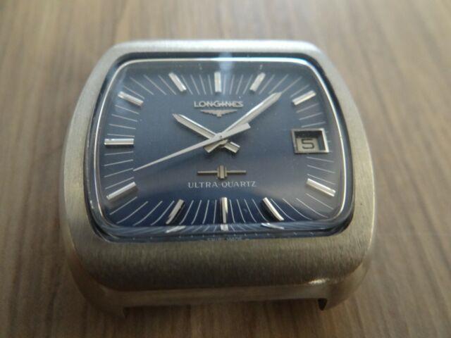 Very Rare Vintage Longines Ultra Quartz Caliber 6215 Watch Head Only