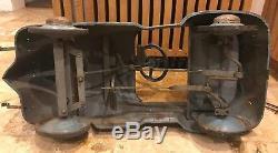 Vintage 1937 Garton Ford Pedal Car Opening Hood Steel 100% Original Ultra Rare