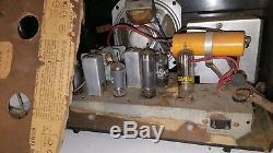 Vintage 1940's Stromberg-Carlson Tube Radio Bakelite Estate Find ULTRA RARE! C1