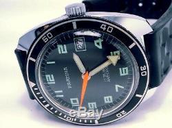 Vintage 1950 Ultra-rare Pratina (sea-horse) 17-rubis Compass Diver Mens Watch