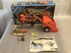Vintage 1974 Kenner Duke The Super Action Bionic Dog & Rescue Unit ULTRA RARE