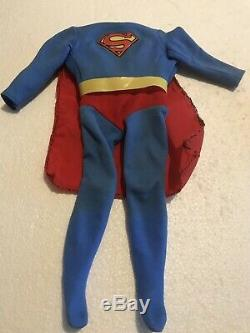 Vintage 1978 Denys Fisher Mego Power Action 13.5 Superman Complete Ultra Rare