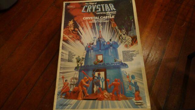 Vintage 1982 Remco The Saga Of Crystar Crystal Castle With Box Ultra Rare