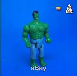 Vintage 1986 Hulk Super Heroes Colombian Release Ultra Rare Gulliver Blue Pants