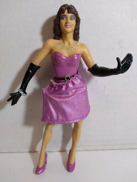Vintage 1988 Ljn Wwf Miss Elizabeth Purple Skirt Action Figure Ultra Rare