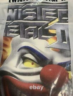 Vintage 1998 TWISTED METAL III Playstation Game promo T-Shirt. Ultra Rare XL Tee