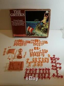 Vintage Atlantic HO Scale The Greeks Ulysses' Legend 95% Complete Ultra Rare