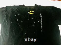 Vintage Batman The Animated Series Logo XL Shirt 1995 Ultra Rare