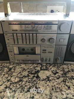 Vintage Boombox The JVC PC-11 Ultra RARE Model Classic Ghetto Blaster FS