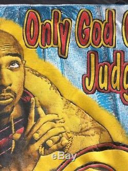 Vintage Bootleg Tupac Shakur Rap Tee 90´s Ultra Rare