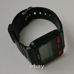 Vintage Casio Game Watch Gh 16 Heli Fighter Red Ultra Rare