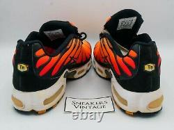Vintage Collector Nike Air Max Plus Tn 1998 Tiger Orange Black OG ULTRA RARE