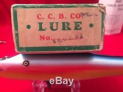 Vintage Creek Chub Tarpon Pikie, ULTRA RARE Uncatalogued Rainbow Single Hook