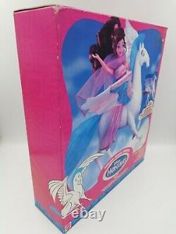 Vintage Disney Hercules Magic Wings Pegasus Figure 1997 Mattel New ULTRA RARE