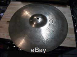 Vintage Early 60's ZILDJIAN 20 ULTRA PAPER THIN Light Ride Cymbal! 1766g! RARE