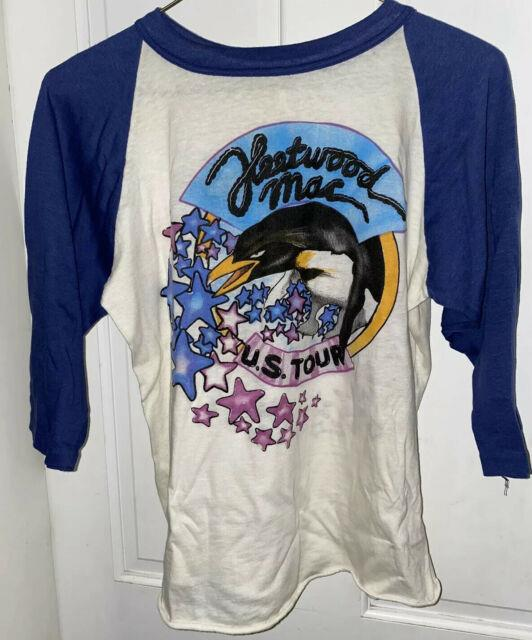 Vintage Fleetwood Mac Us Tour Raglan Baseball T Shirt 1973-1977 Ultra-rare