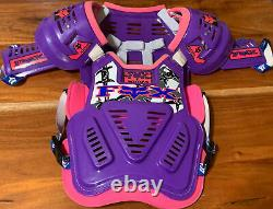 Vintage Fox Roost 2 Chest Protector Ultra RARE Barbed Wire Purple and Pink