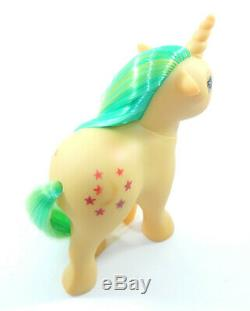 Vintage G1 My Little Pony NIRVANA Greek Greece Yellow Moondancer ULTRA RARE