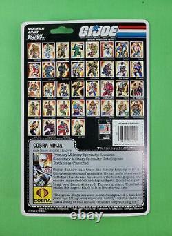 Vintage Gi Joe Cobra Storm Shadow (36-back) Ultra Rare! Amazing Condition! Wow