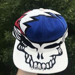 Vintage Grateful Dead Hat Steal Your Face Liquid Blue 1996 EXCELLENT Ultra Rare