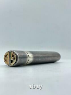 Vintage Gucci 925 Sterling Silver Lighter/stash Case Ultra Rare Nice