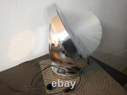 Vintage Italian fiber optic lamp with glass spray Ultra rare not Fantasia