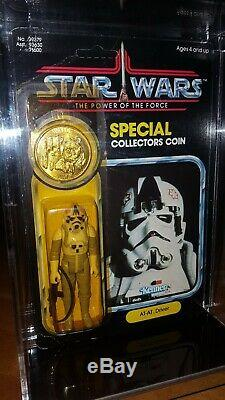 Vintage Kenner 1984 Star Wars MOC POTF AT-AT Driver Ultra Rare