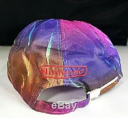 Vintage Nintendo Hat Employee Issue Ultra Rare 1980s Multi Color