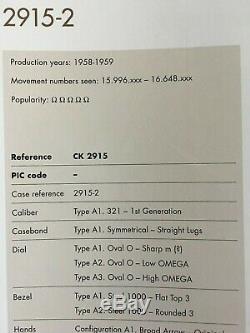 Vintage Omega Speedmaster 2915-2 Movement Cal. 321 Complete & Ultra Rare