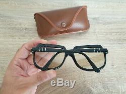 Vintage PERSOL Ratti Meflecto 58200 Ultra Rare Square Sunglasses Made in Italy