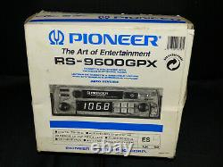 Vintage Pioneer Rs-9600gpx Cassette Car Stereo New Old Stock Ultra Rare