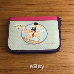 Vintage Polly Pocket Schneiders Bag Bundle, Pencil Case, Folder Ultra Rare