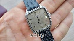 Vintage RARE 70's Longines Ultra Thin L994.1 Automatic Textured Dial With Box