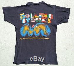 Vintage Rolling Stones shirt 1981-1982 original World Tour ultra RaRe