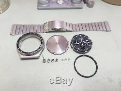 Vintage SEIKO 7a38 7010 Professionally Serviced with Photos Mint (Ultra Rare)