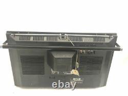 Vintage SHARP CT-6001 VINTAGE BOOMBOX TV ULTRA RARE JP MODEL