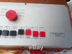 Vintage SILORA TELEGAME 2001 Ultra Rare pong clone TV game Console