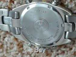 Vintage Seiko Flightmaster Chronograph Alarm 7T34 7A60 Ultra Rare Edition
