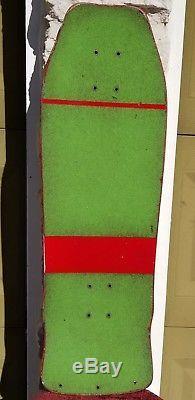 Vintage Skateboard Uncle Wiggley 1986 John Schultes USA Ultra Rare UWS Grail OG