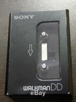 Vintage Sony Wm-dd30 Portable Stereo Cassette Player Ultra Rare
