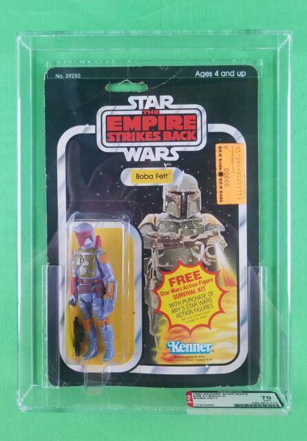 Vintage Star Wars 1980 Boba Fett Esb 41-back A Graded Afa 70! Ultra Rare! Wow