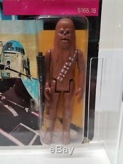 Vintage Star Wars 1988 GLASSLITE Brazil Chewbacc Chewy MOC MOSC Ultra Rare! MOSC